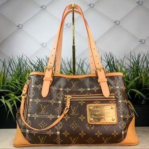 Authentic Louis Vuitton Riveting Satchel